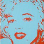 Marilyn in Farbe Orange